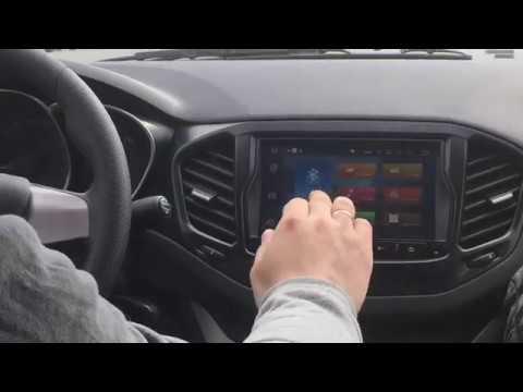 Первые впечатления об экране 2din ММС Android 6 для Lada Vesta (Лада Веста)