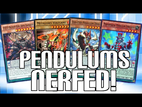 PENDULUM MONSTERS NERFED?! - Yugioh VRAINS New Rules for Pen