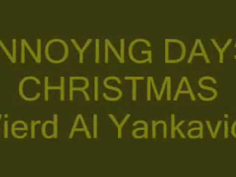 12 annoying day of christmas