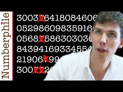 Primes without a 7 - Numberphile
