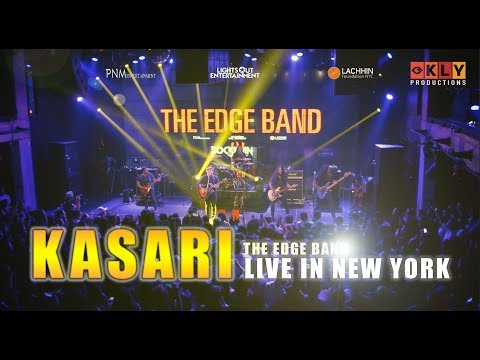 KASARI- THE EDGE BAND LIVE IN NEW YORK - ROCKMANCH - 2017