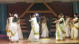 Thiruvathira, Onam 2013, Ranganatha Temple, Pomona NY
