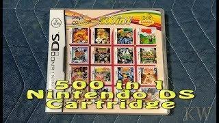 Nintendo DS 500 in 1 Cartridge