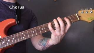 Bob Marley - Could You Be Loved Guitar Lesson