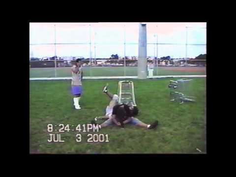 Spider vs Logan 2 Backyard Wrestling 2001