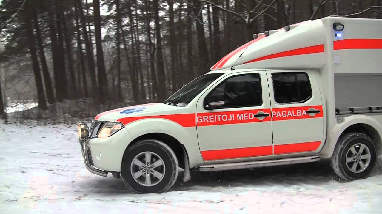 Nissan Navara Ambulance Vehicle By Cts Youtube