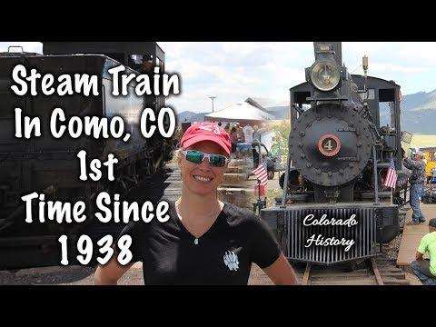 Colorado Train History, Steam Train Como, CO -Boreas Pass Railroad Day - Our Journey :: Episode #84