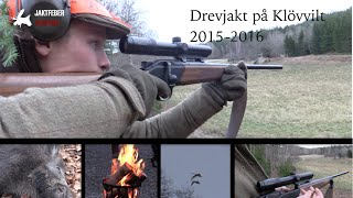 Video JAKTFEBER Drevjakt på Klövvilt 2015-2016 download MP3, 3GP, MP4, WEBM, AVI, FLV Oktober 2018