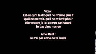 Vitaa Ft  Amel Bent  ( Avant Toi Lyrics )