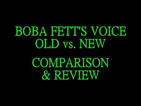 Boba Fett's Voice - Old vs. New