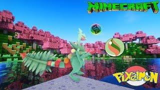 Minecraft Pixelmon+ Tập 20: Mega Sceptile Chú rồng bé nhỏ