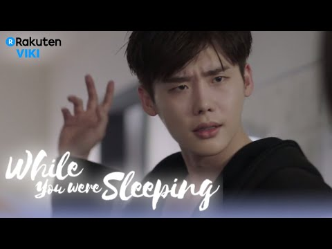 While You Were Sleeping - EP14 | Sexy Lee Jong Suk Post Shower [Eng Sub]