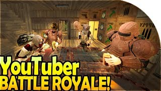 YOUTUBER BATTLE ROYALE! - 7 Days to Die Battle Royale / Hunger Games Gameplay Part 1