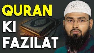 Quran Ki Fazilat By Adv. Faiz Syed