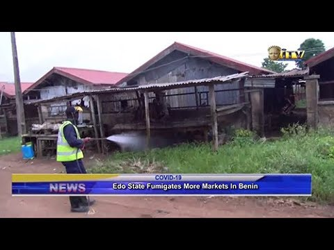 EDSG fumigates more markets in Benin