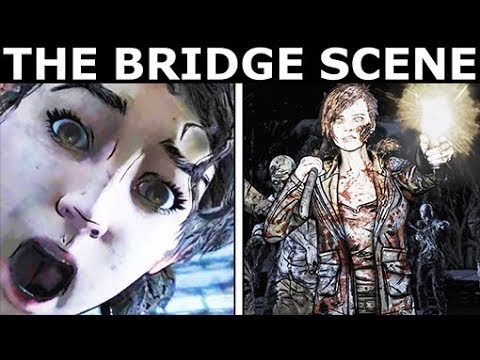 Download The Bridge Scene With Walker Minnie - The Walking Dead Final Season 4 Episode 4: Take Us Back