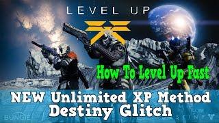 "Destiny| ""NEW Unlimited XP Method|Farming| Unlimited Fast XP Method""""Rank Up Fast Glitch"""