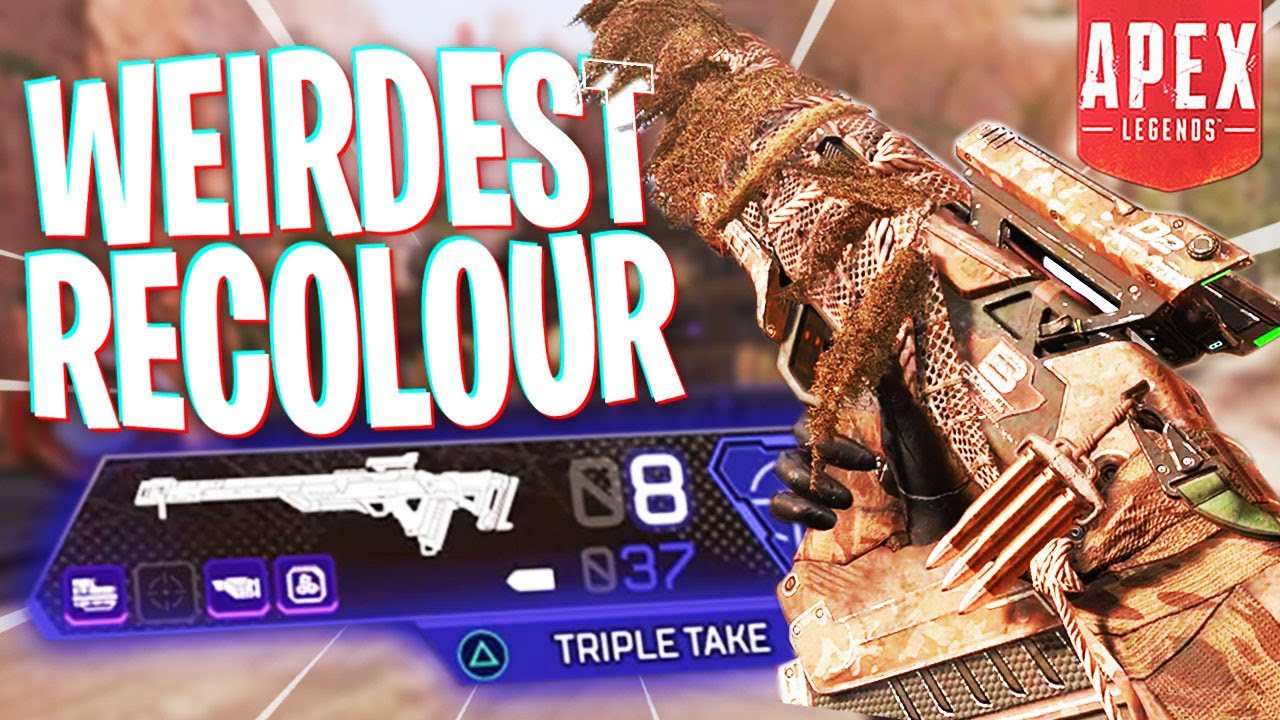 The New Triple Take Recolour is Weird... - PS4 Apex Legends