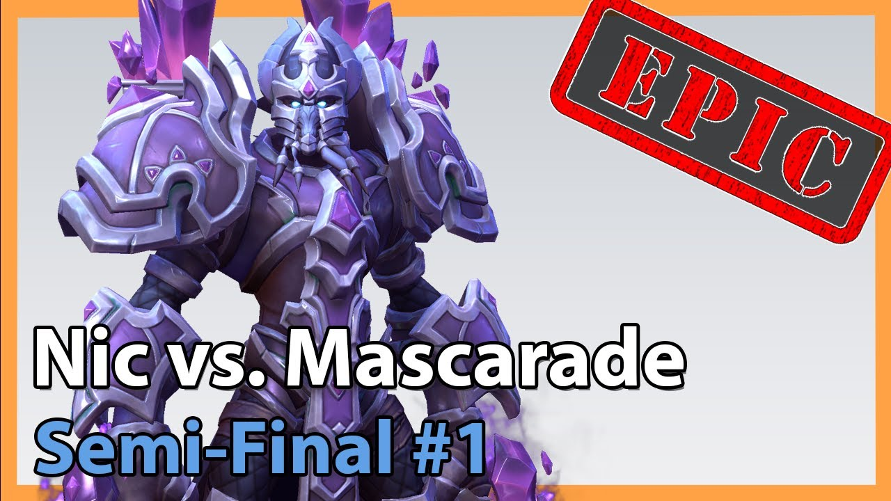 Semifinal #1 - Mascarade vs. Nic - Heroes of the Storm 2020