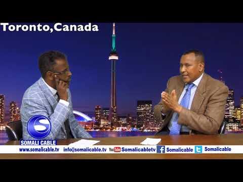 Todobaadka iyo Toronto waraysi Bashiir Axmed Makhtal