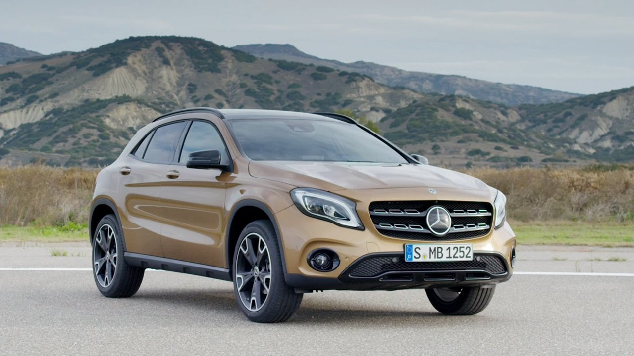 2017 mercedes benz gla 220 d 4matic youtube. Black Bedroom Furniture Sets. Home Design Ideas