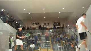 2-US Jr Open Squash 2013 - Karim Ibrahim (EGY) v David Yacobucci (USA) BU17 QtrFinal - Game 2 thumbnail