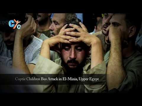 we do not serve your gods - Coptic Children Bus, Minya