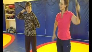Простые упражнения с нунчаками. nunchaku - Мелкая моторика, подвижность суставов.