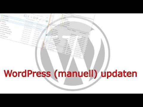 WordPress Manuell updaten – WordPress update Anleitung / Tutorial – 4.4