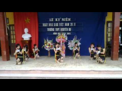 Lop 12A THPT Nguyen Du Nam Dinh