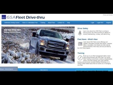 GSA Fleet Drive-thru Training: Defensive Driving