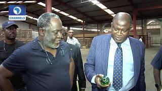 Assessment Tour MD BOI Visits Innoson Motors amp Golden Guinea Breweries BoI Weekly