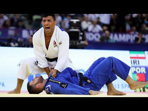 Judo: Anri Egutidze perde com o novo Campeão do Mundo