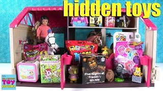 blind bag horse haven 2 disney shopkins twozies mh opening   pstoyreviews