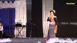 Sacramento Hmong New Year 2016 - 2017 :Miss Hmong CA Pageant -  Lily Vang's Farewell Speech