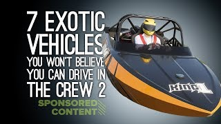 The Crew 2: 7 Exotic Vehicles You Won