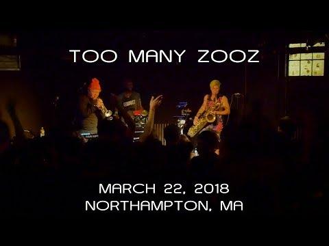 TOO MANY ZOOZ: 2018-03-22 - Pearl Street; Northampton, MA (Complete Show) [4K]