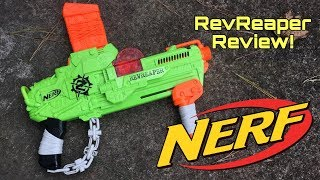 Honest Review: Nerf Rev-Reaper (Flywheels Without Batteries)