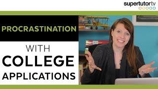😨 Does Procrastination affect College Admissions Chances?? 😨
