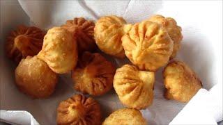 Talniche modak (Maharashtrian Fried Modak) - Ganapati special