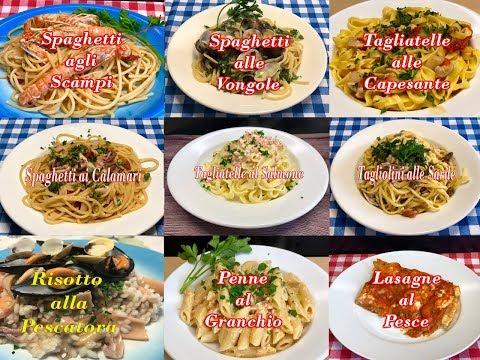 10 migliori primi piatti a base di pesce youtube for Cucina italiana primi piatti