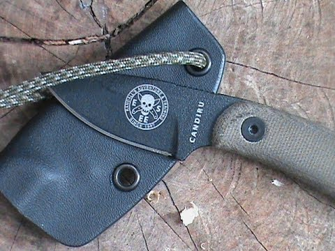 Esee Candiru Knife Review Great Neck Knife Youtube