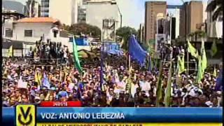 Opositores se movilizaron en la marcha de las ollas vacías