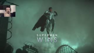 Independence Day Beatdown 2017: Injustice 2 pt27 - Batman vs. Superman (goodbye, game!)