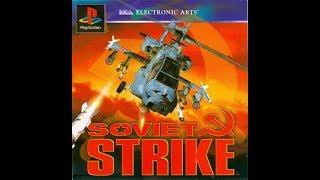 Soviet Strike. PS1. Walkthrough