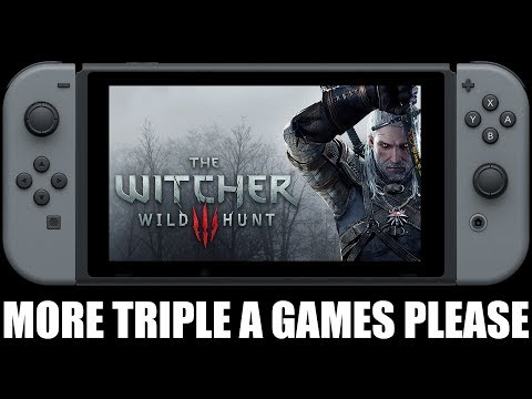 A Rumored Port Of The Witcher 3 For The Switch Would Be Awesome! thumbnail