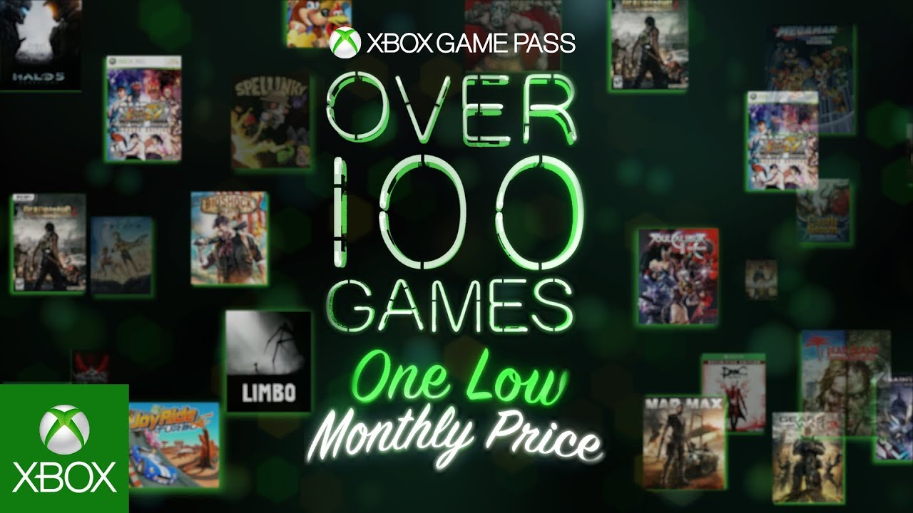 Xbox Game Pass - More is on the Menu - YouTube