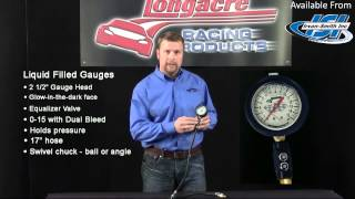 Longacre Analog Tire Pressure Gauges