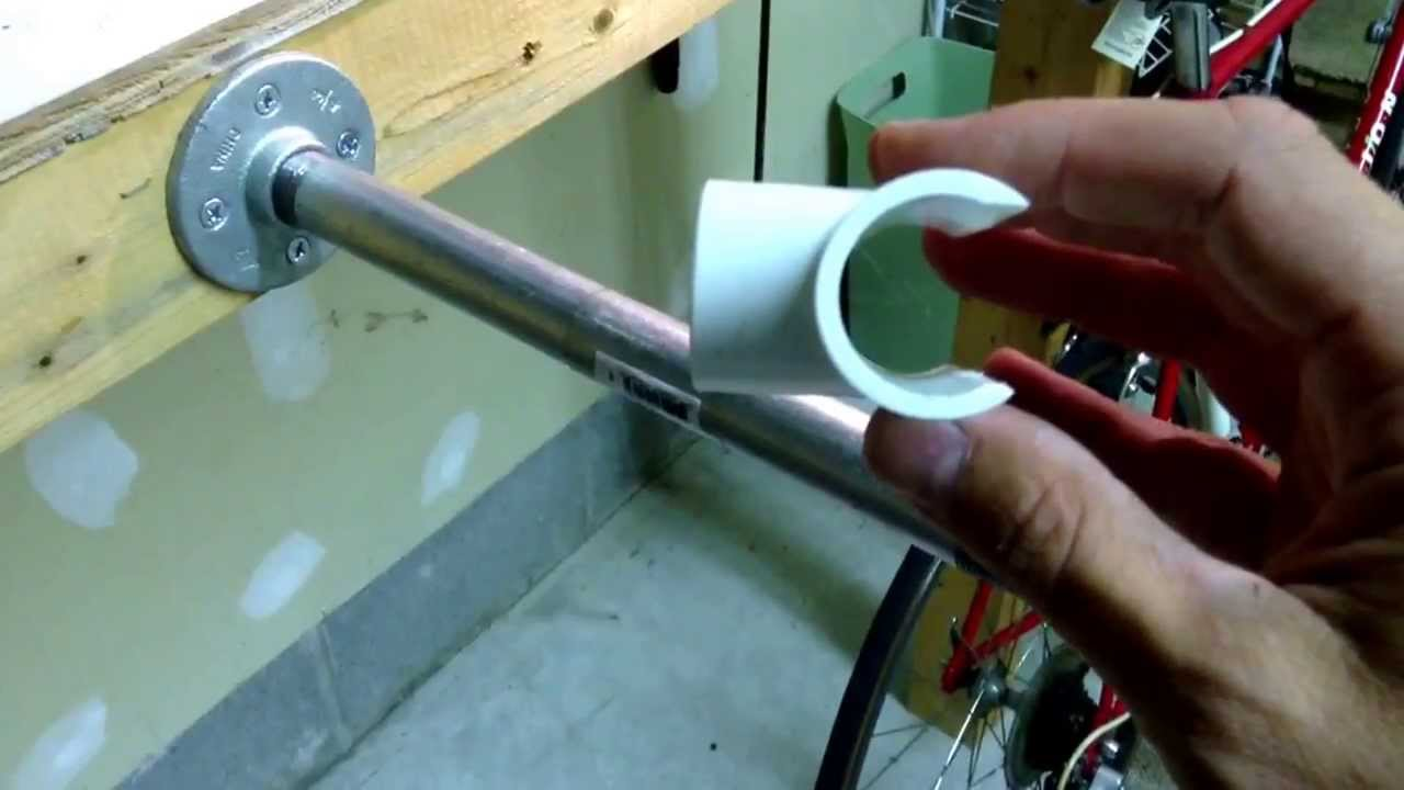 How To Make An Easy DIY Bike Stand For Less Than 20 YouTube