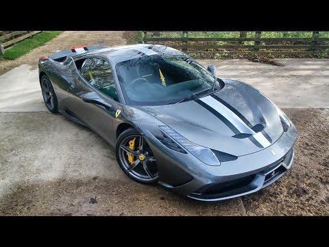 My Friend Bought A Ferrari 458 Speciale